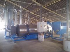 Барабанные сушилки для биомассы (Чехия)