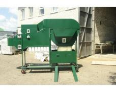 Separator for grain cleaning