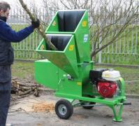 Shredders wood waste (Italy)
