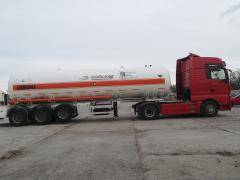 Transportation of anhydrous ammonia, fertilizers
